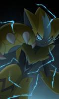 LEAK: New pokemon Zeraora by All0412