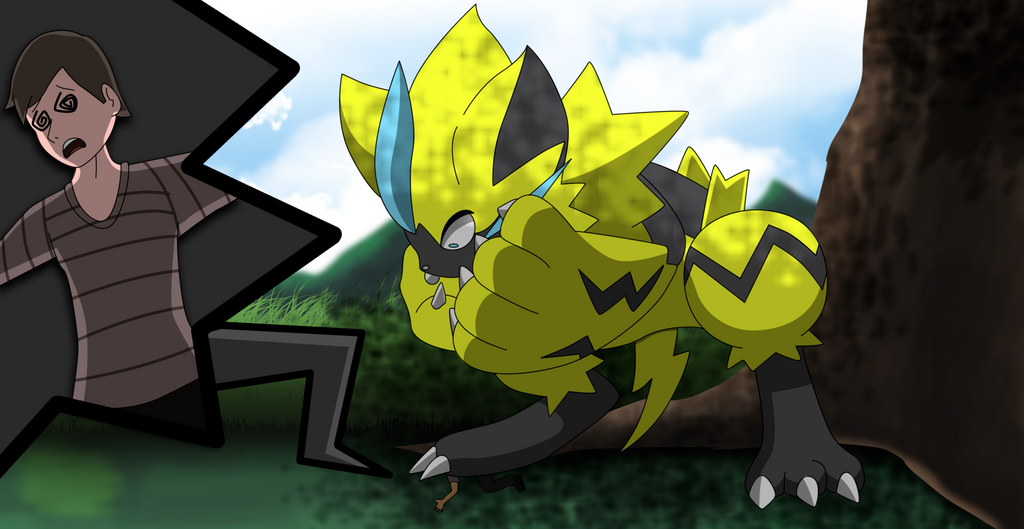 December Moon 2017 >> Commission: Oh no Zeraora! by All0412 on DeviantArt