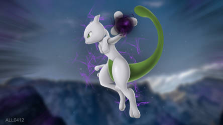 Happy Birthday Mewtwo by All0412