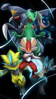 New Commission Type: Demi-3d style Pokemon Team