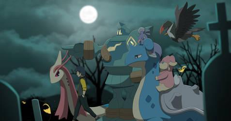 Commission: Creepy Night