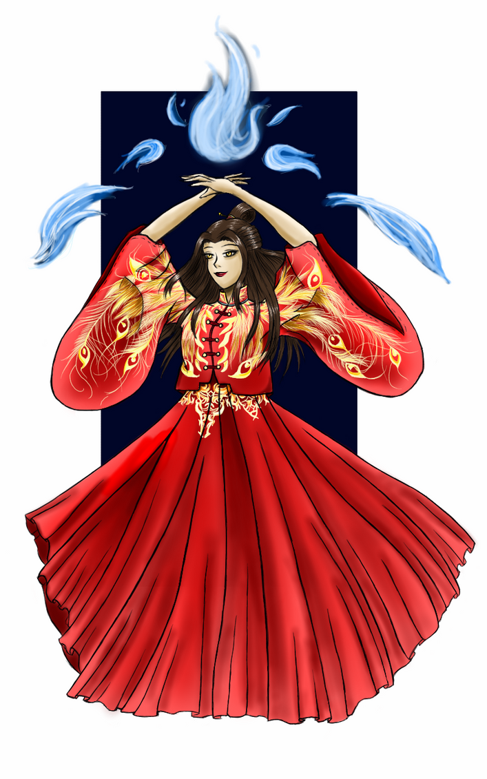 Fire Lord Azula by whitebear12