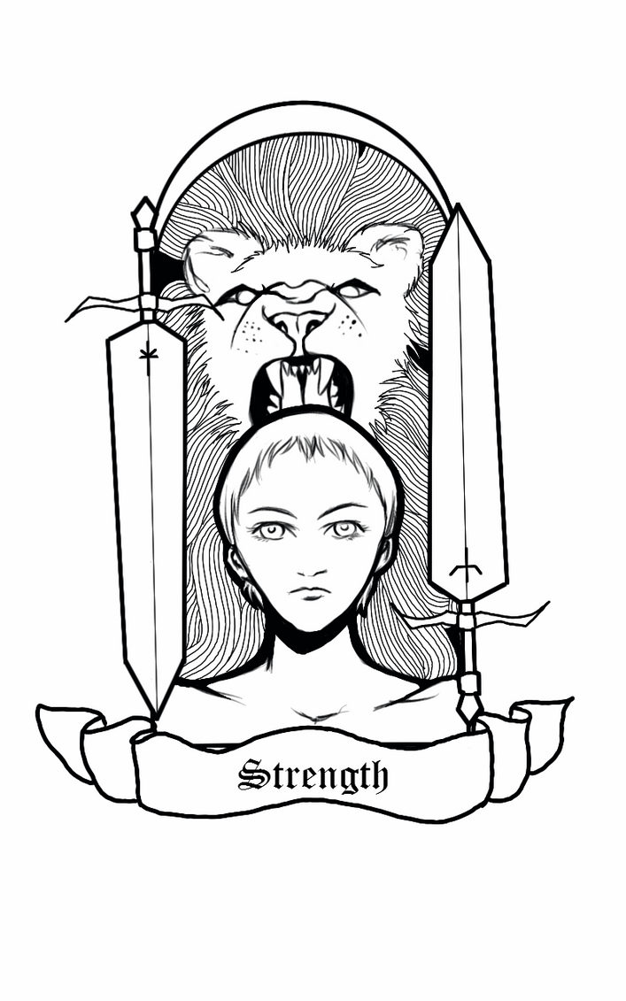 Deneve of the Twin Swords by whitebear12