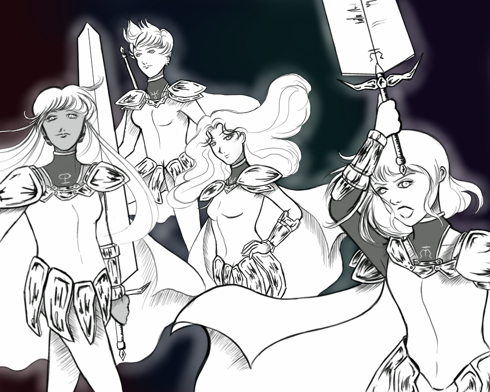Claymore Senshi by whitebear12