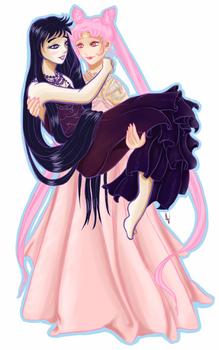 White Lady and Princess Saturn