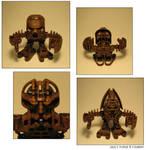 (Custom) the Makuta in Matoran Form