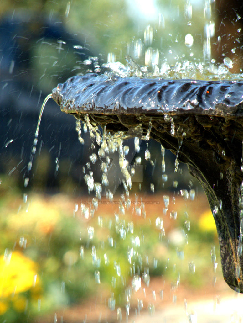 Drops of water by AstarothSquirrel