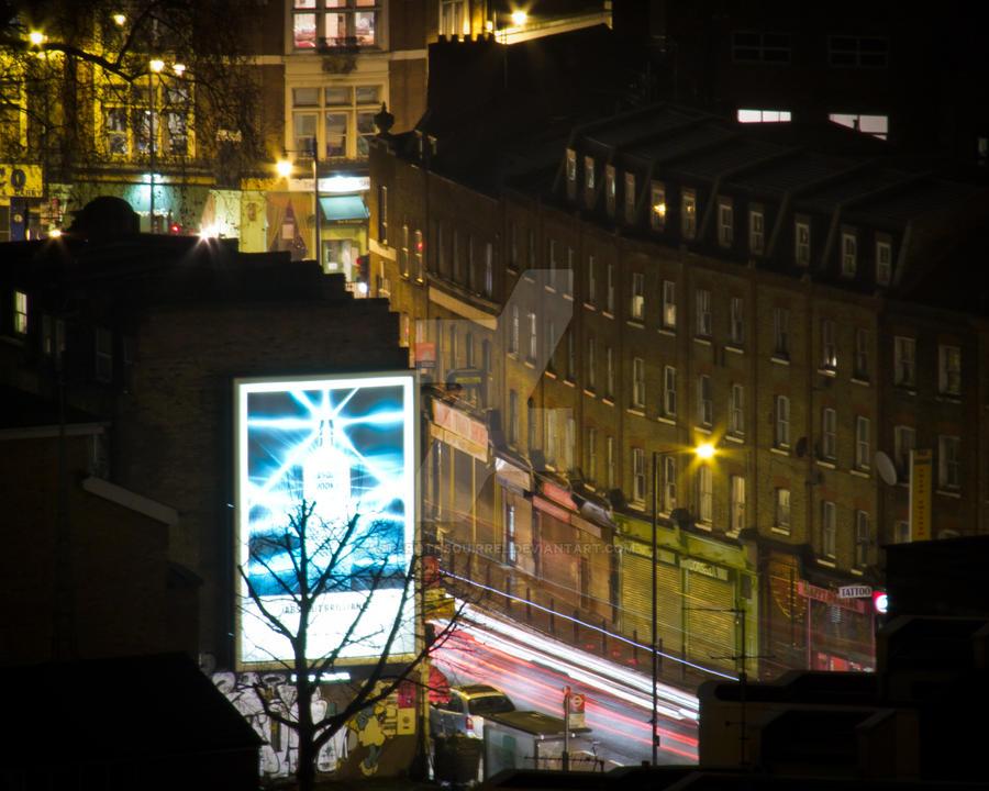 London advert by AstarothSquirrel