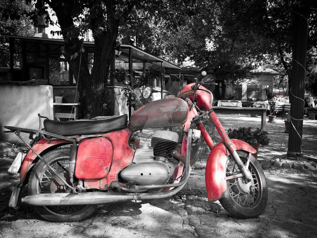 Motorbike by AstarothSquirrel