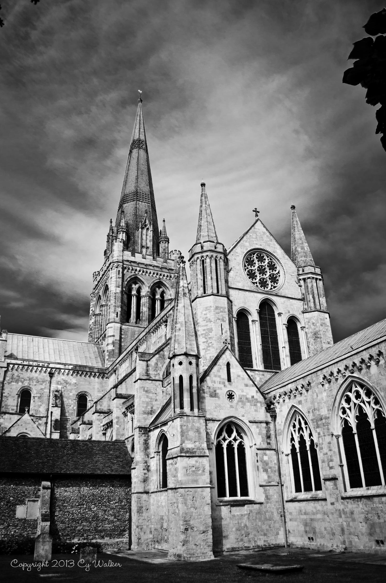Chichester Cathedral by AstarothSquirrel