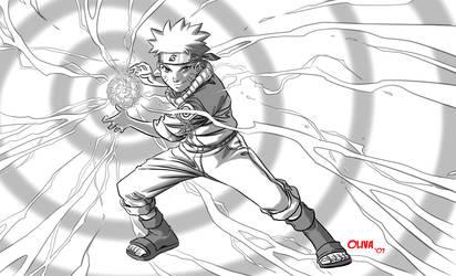 Uzumaki Naruto by AZNbebop