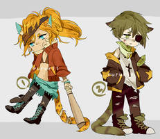 adopts auction02: delinquents [closed] by rururii
