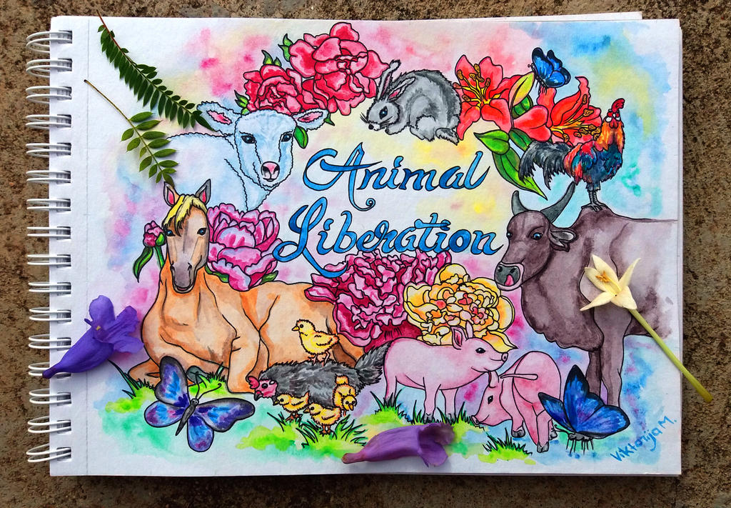 Animal Liberation by ViktorijaMar