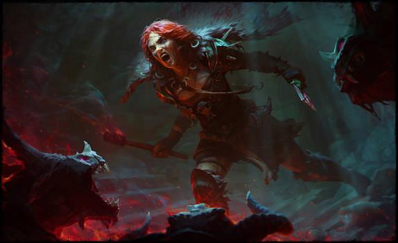 Barbarian (fan art for Diablo 4)