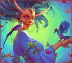 Ariel Mage Queen of Loren