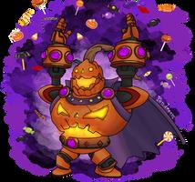 Pumpking Bomb King by Pandreem