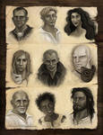 The First Law Trilogy Portraits