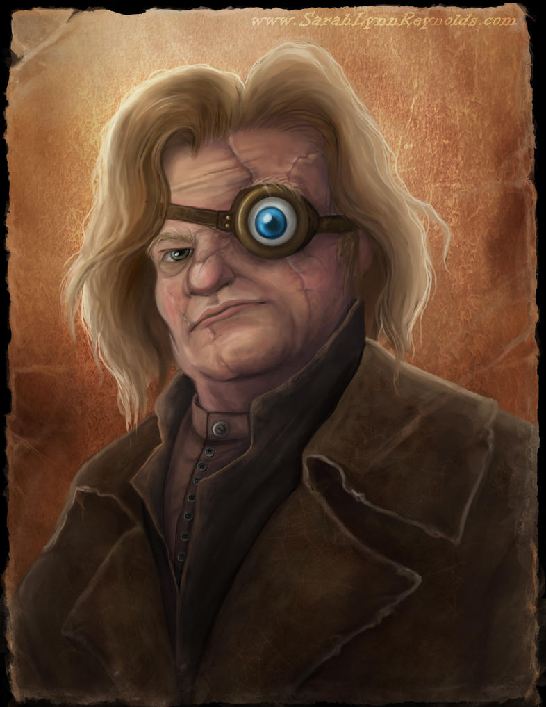 Mad Eye Moody by SarahLynnReynolds