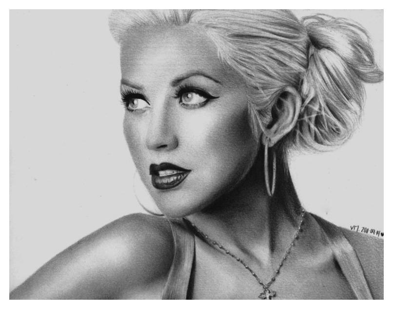 Christina Aguilera by VeeEmz
