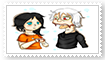 Volkov and Mandy stamp by Creepymarty2