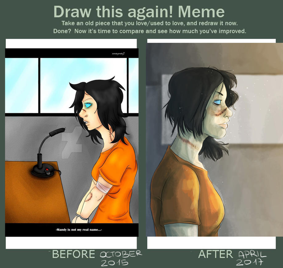 Draw this again meme by Creepymarty2