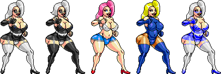 [BRUTAL BRAWL] Ladies of the Night by Chamat