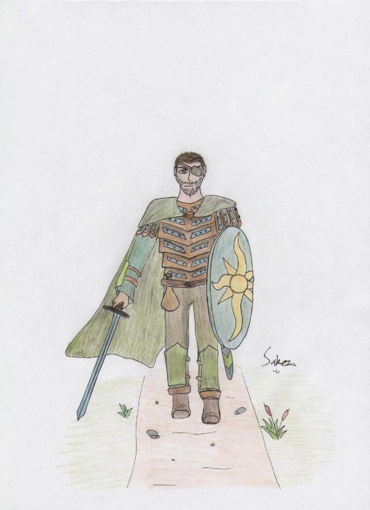 Warrior by SaKoz-Unleashed