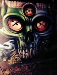 skull acilia by gojoabbestia