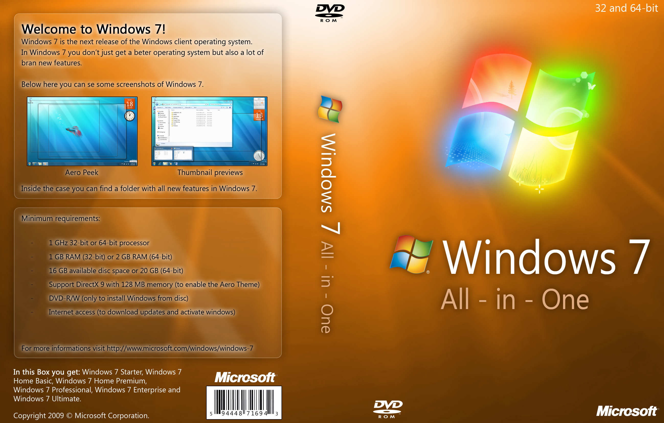 Windows 7 AIO l [MG]