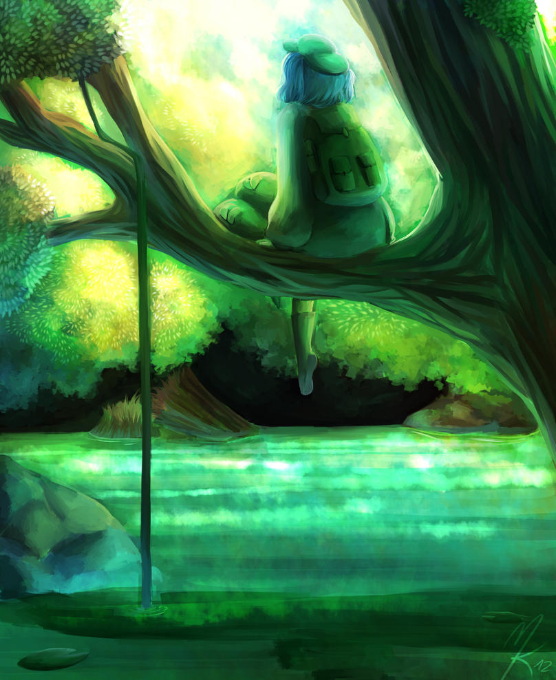 Daydreaming Kappa by KelbremDusk