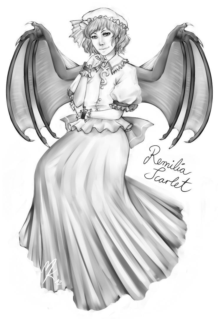 Remilia Scarlet by KelbremDusk