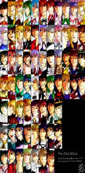 Touhou Project Battlecuts - Windows Characters