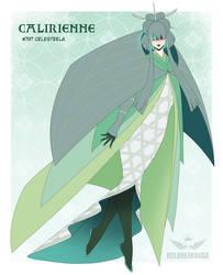 Celesteela gijinka by KelbremDusk