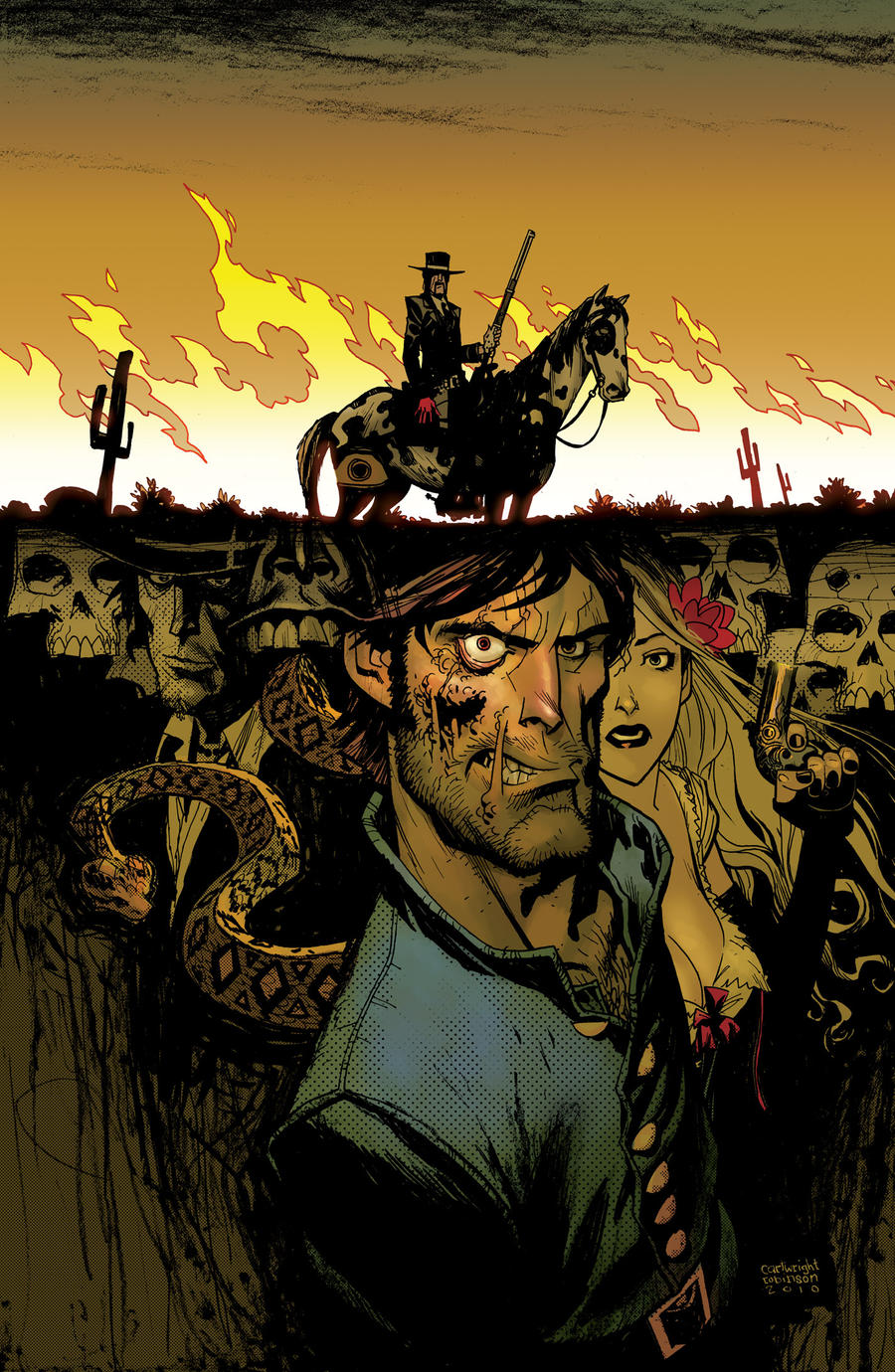 Jonah Hex Cover by Andrew-Robinson