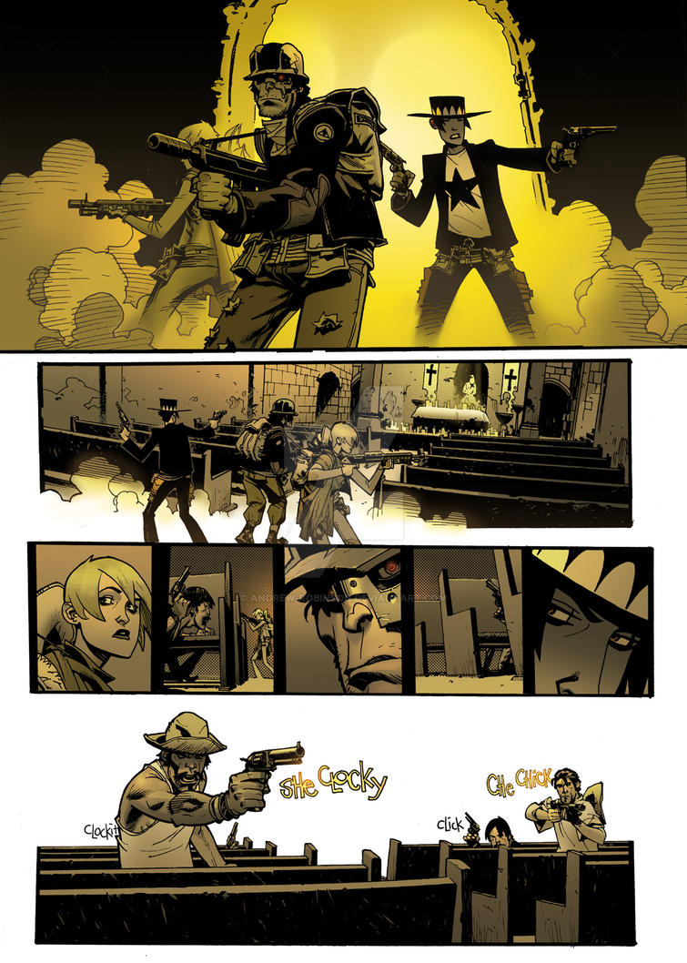 Another Dusty Page colored by Andrew-Robinson