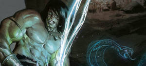 Detail from 3rd king conan cover