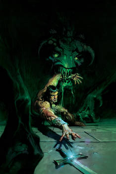 My 4th King Conan cover