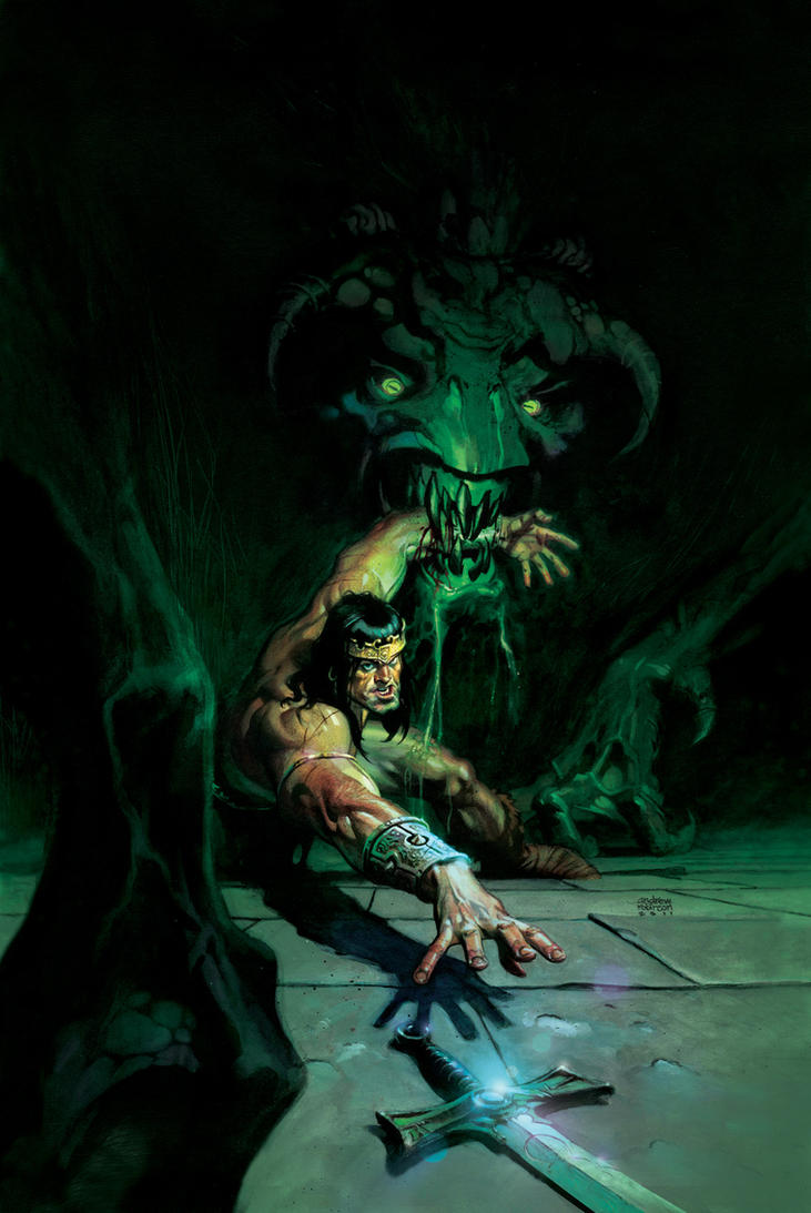 My 4th King Conan cover by Andrew-Robinson