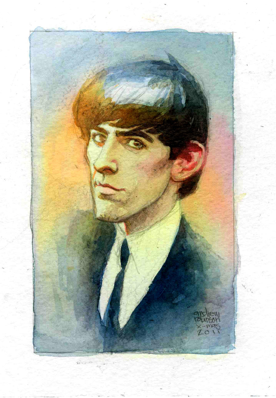 george harrison by Andrew-Robinson