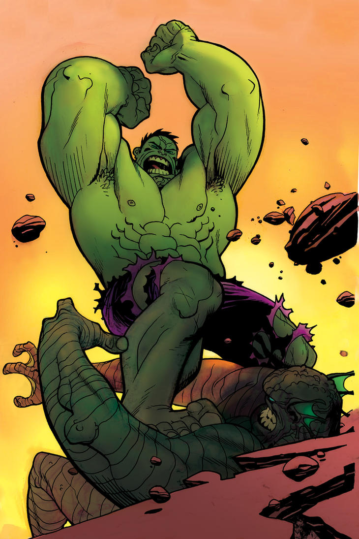 Hulk smash. by Andrew-Robinson