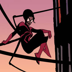 spider woman by Andrew-Robinson