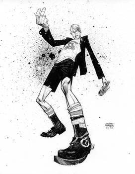 Quentin Quire Punked.