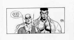 Ironfist and PowerMan.