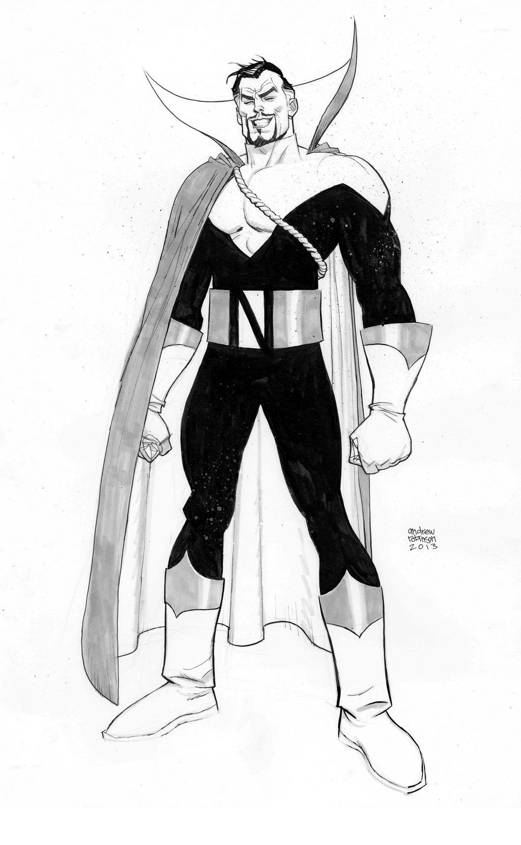 Count Nefaria by Andrew-Robinson