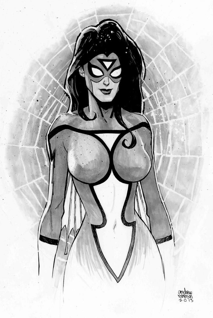 Spiderwoman by Andrew-Robinson