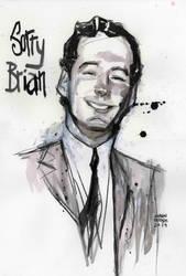 Brian Epstein painting