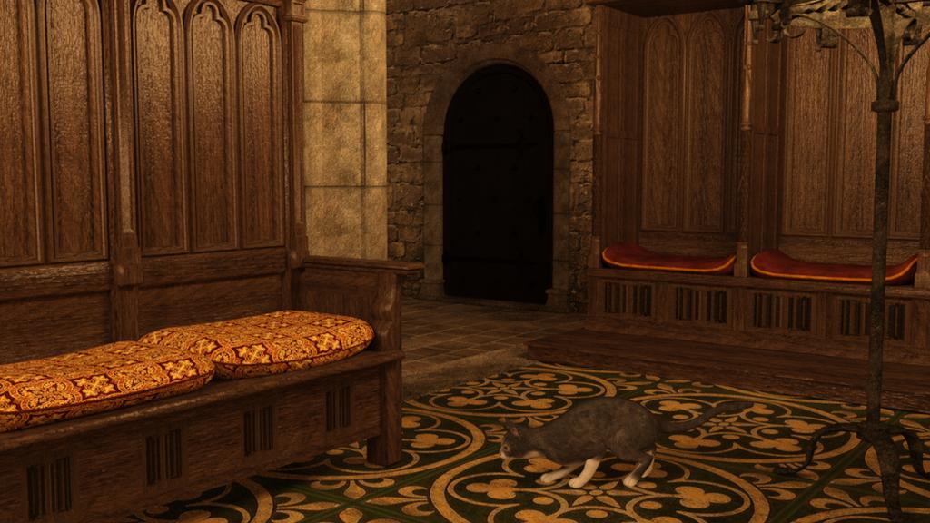 Here, kitty kitty by gatesjillianwriter