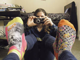 ID Number 2. Socks. by ImOneOfThosePeople
