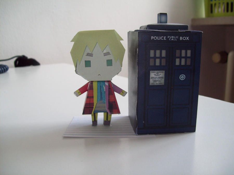 Doctor Who Paperdolls - 6 by Rabenstolz