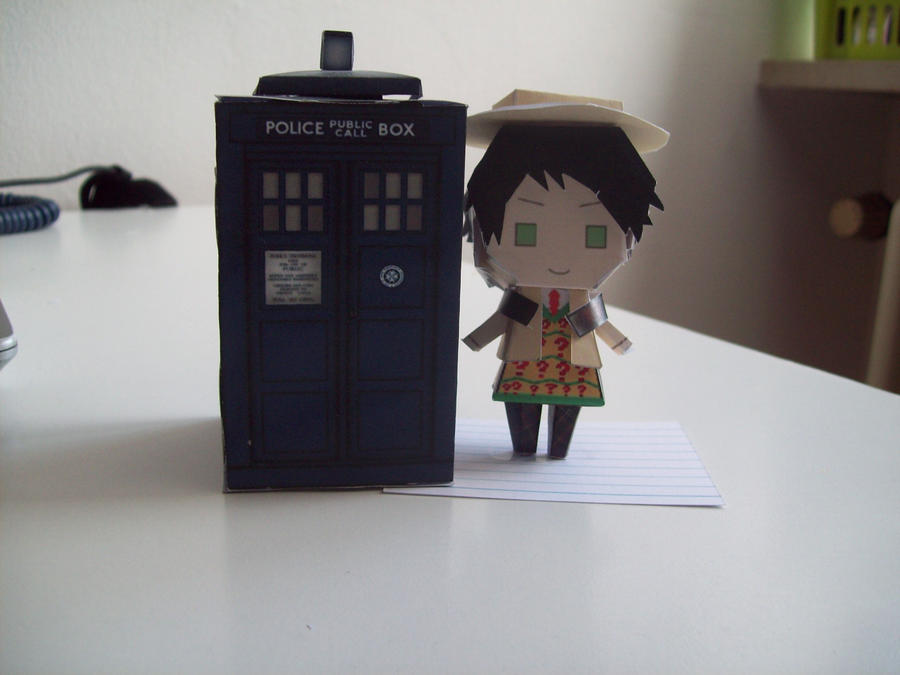 Doctor Who Paperdolls - 7 by Rabenstolz
